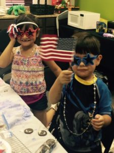 Happy 4th of July from Ariza & Angel