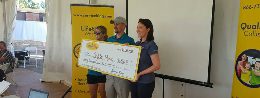 Service King Golf Tournament Donation 2015