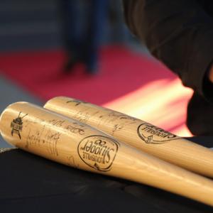 Signed Baseball Bats