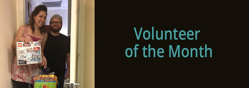 Volunteer Ashley Allen