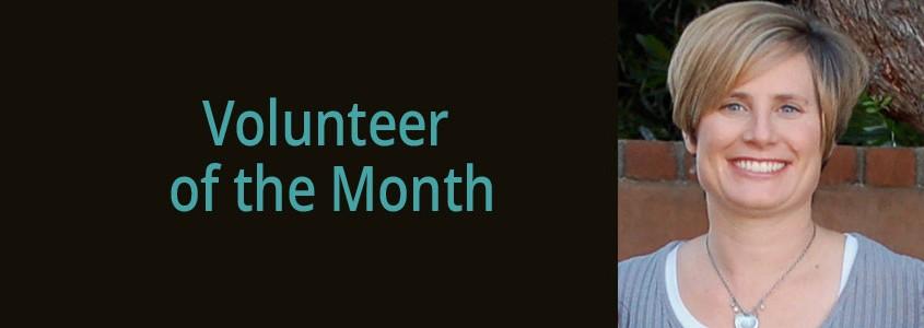 Volunteer Kate Stromeyer